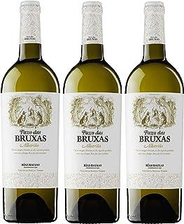 Pazo Das Bruxas, Vino Blanco - 3 botellas de 75 cl, Total: 2250 ml