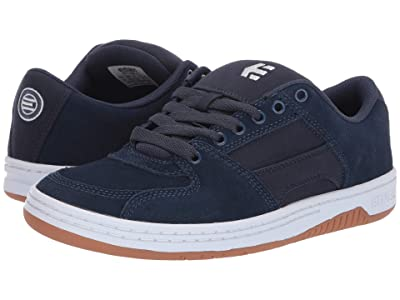 etnies Senix Lo (Navy/White/Gum) Men
