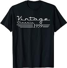60th Birthday 60 Years Old 60th Vintage Retro 1959 Birthday T-Shirt