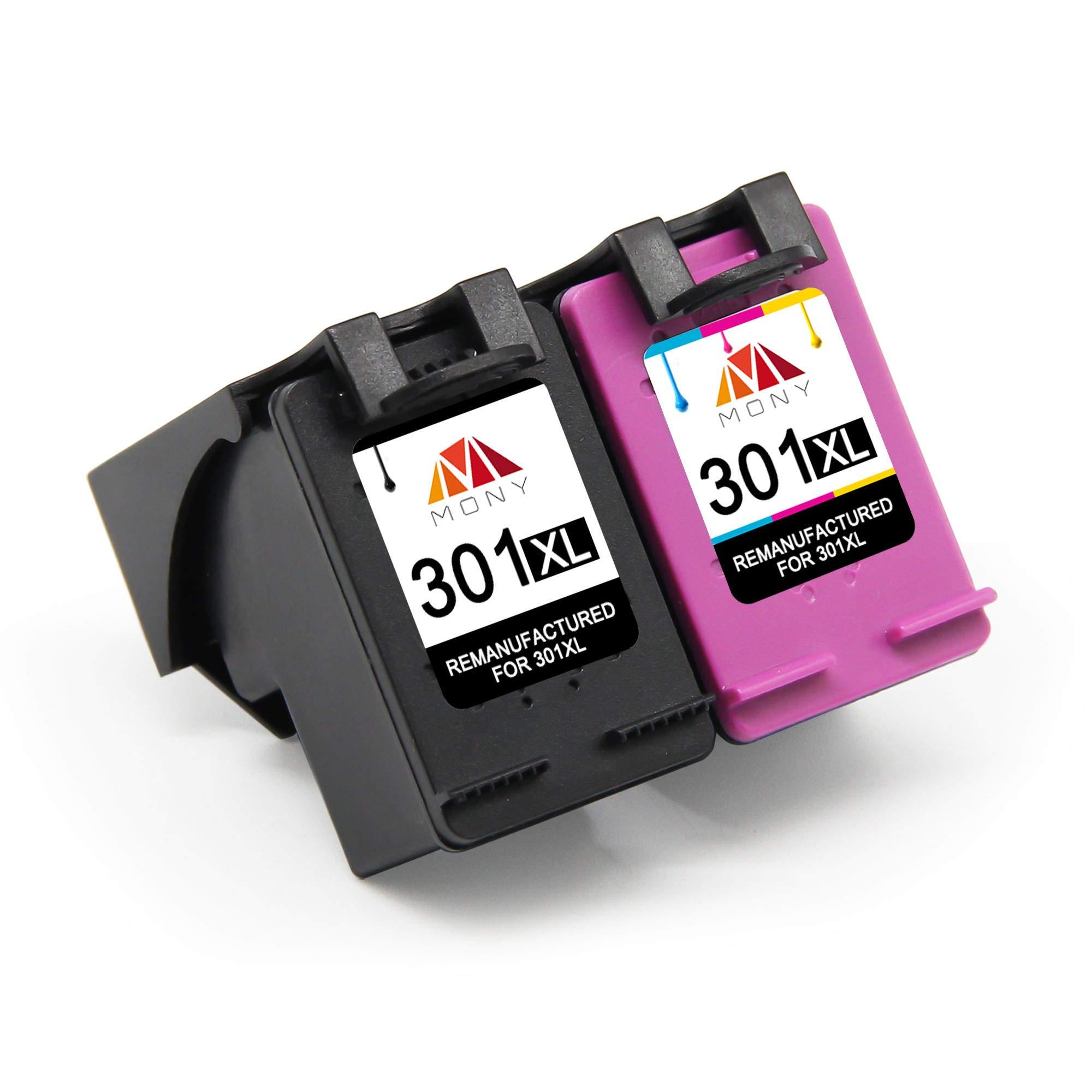 Mony Remanufacturado Cartuchos de Tinta Reemplazo para HP 301 XL ...