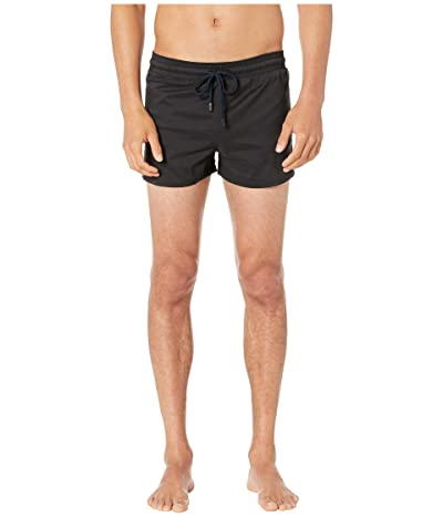 Vilebrequin Man Unis Stretch Swim Trunks (Black) Men