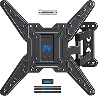 """Mounting Dream TV Wall Mounts TV Bracket for Most 26-55"""" TVs, TV Mount with Perfect Center Design, UL listed, Full Motion TV Wall Mount with Swivel Articulating Arm, Max VESA 400x400mm, MD2413-MX"""