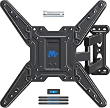 Mounting Dream Full Motion TV Wall Mount for Most 26-55 Inch TVs, TV Wall Bracket with Swivel Articulating Arms, Perfect Center Design TV Mounts Wall, up to VESA 400x400mm and 60 LBS MD2413-MX
