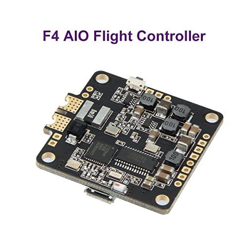 SpeedyBee F4 AIO Flight Controller OSD Built-in LC Lilter Bluetooth Chip Supported Setting FC