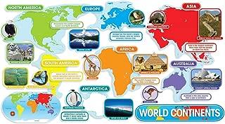 Scholastic Teacher's Friend World Continents Bulletin Board (TF8036)