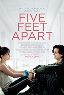 Five Feet Apart Movie Poster 18'' x 28'' - by FINESTPRINT88