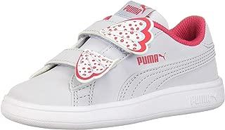 PUMA Kids' Smash V2 Butterfly Velcro Sneaker