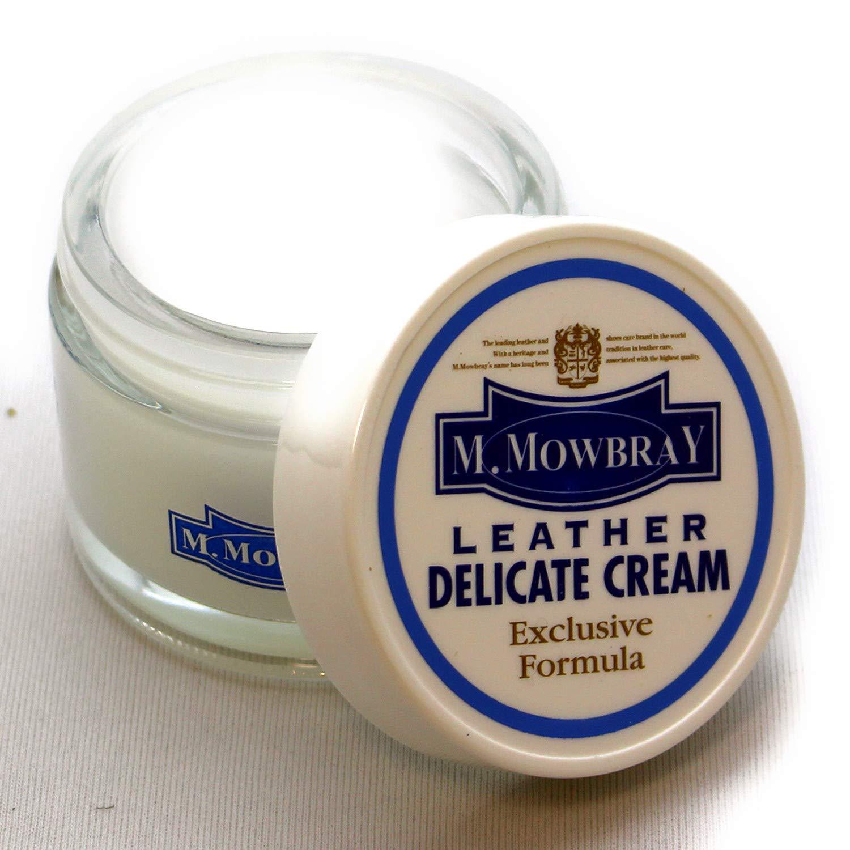 [銀座大賀靴工房] [エムモゥブレィ] M.MOWBRAY デリケートクリーム+ムートングローブクロス