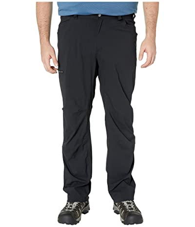 Columbia Big Tall Silver Ridgetm II Stretch Pants (Black) Men