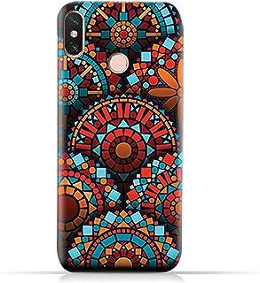 AMC Design Xiaomi Mi Max 3 TPU Silicone Case with Geometrical Mandalas Pattern