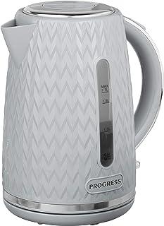 Progress® EK3864PGRY Bouilloire Chevron Capacité 1,7 l Gris