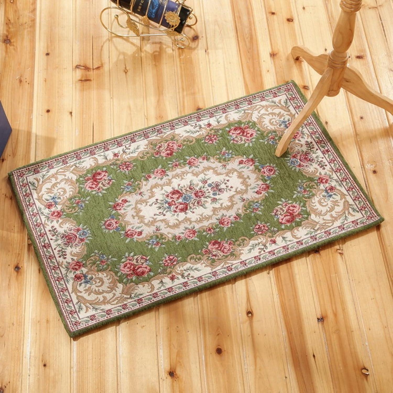 Living Room Indoor mats doormats European Household mats Bedroom Blanket for Bedroom Bathroom Water-Absorbing Non-sliping mats-K 90x140cm(35x55inch)