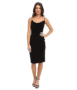 Skinny Strap Side Shirred Tank Dress