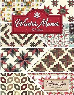 Antler Quilt Design AQD0413 Winter Manor Book