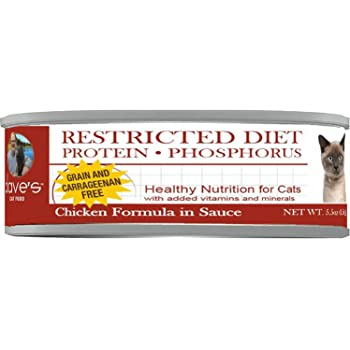 protein restricted diet for felines