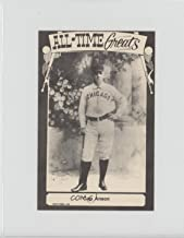 Cap Anson (Baseball Card) 1975 TCMA All-Time Greats - [Base] - Postcard Back #CAAN