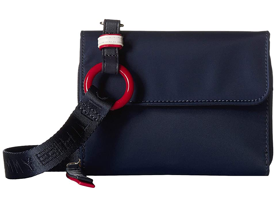 Tommy Hilfiger Leona Crossbody (Tommy Navy) Handbags