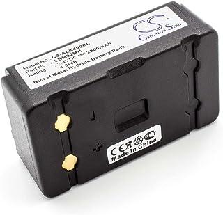 vhbw Batería NiMH 2000mAh (2.4V) para Mando a Distancia/Control Remoto Autec LK4, LK6, LK8