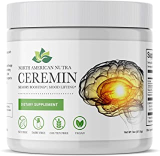 Ceremin| 285X More absorbable Curcumin Supplement| Suport for Memory, Heart, Joint & Digestion* |Curcumin LongVida®, Magne...