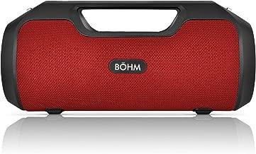 BOHM Impact Plus Bluetooth Speaker Red/Black - New