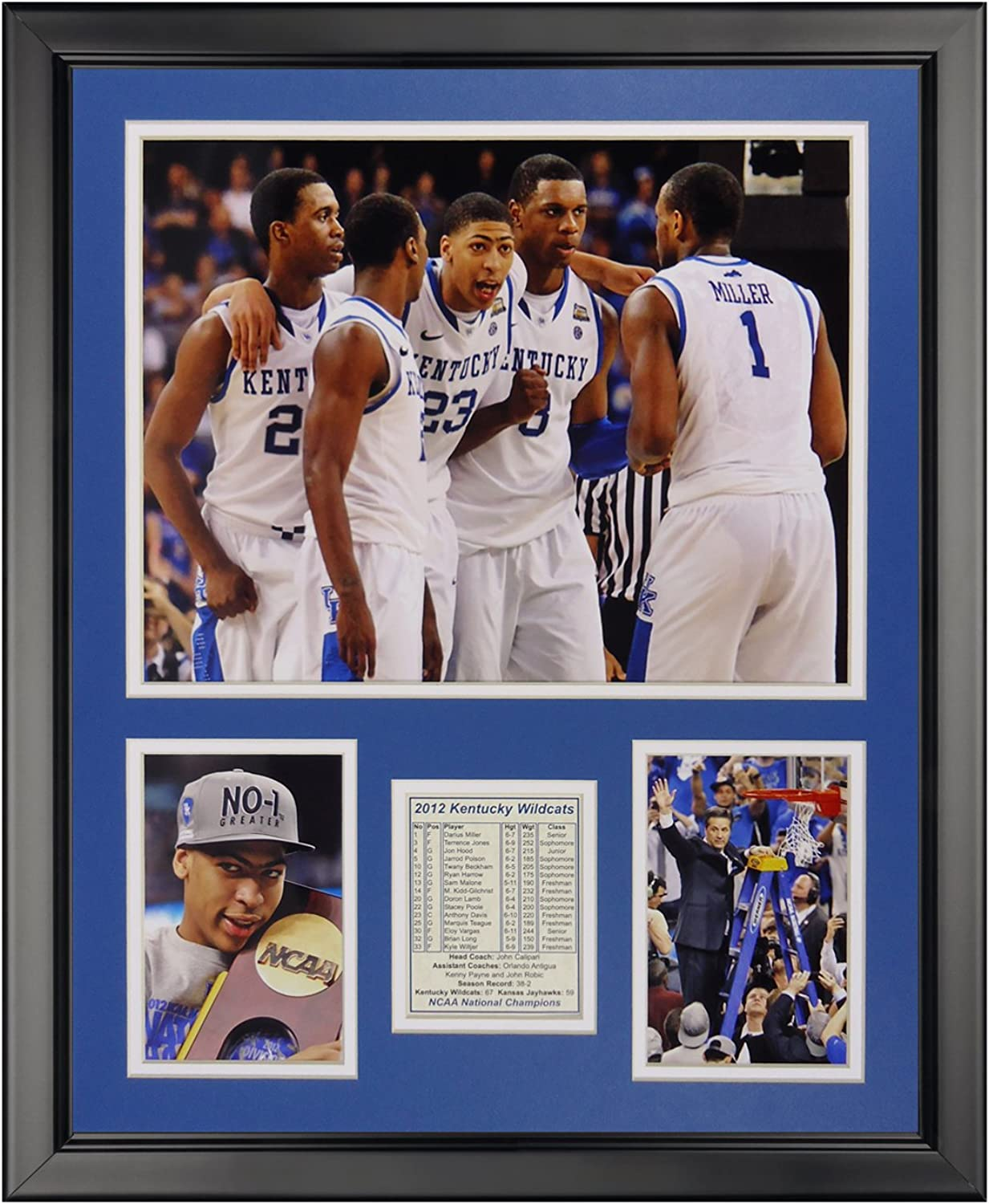 Legends Never Die 2012 Kentucky Wildcats National Champions Collage Photo Frame, 16  x 20