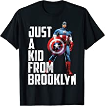 Marvel Avengers Captain America Just A Kid From Brooklyn T-Shirt