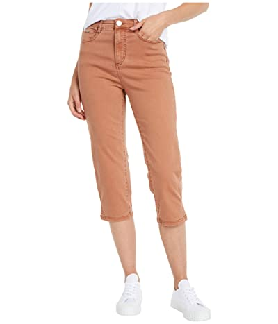 FDJ French Dressing Jeans Solid Cool Twill Suzanne Capris in Cognac (Cognac) Women