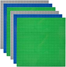 Lekebaby Classic Baseplates Building Base Plates for Building Bricks 100% Compatible with Major...