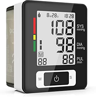 BESTHING Blood Pressure Monitor - Automatic Digital Wrist Blood Pressure Cuff Monitor Clinically Validated Accurate &