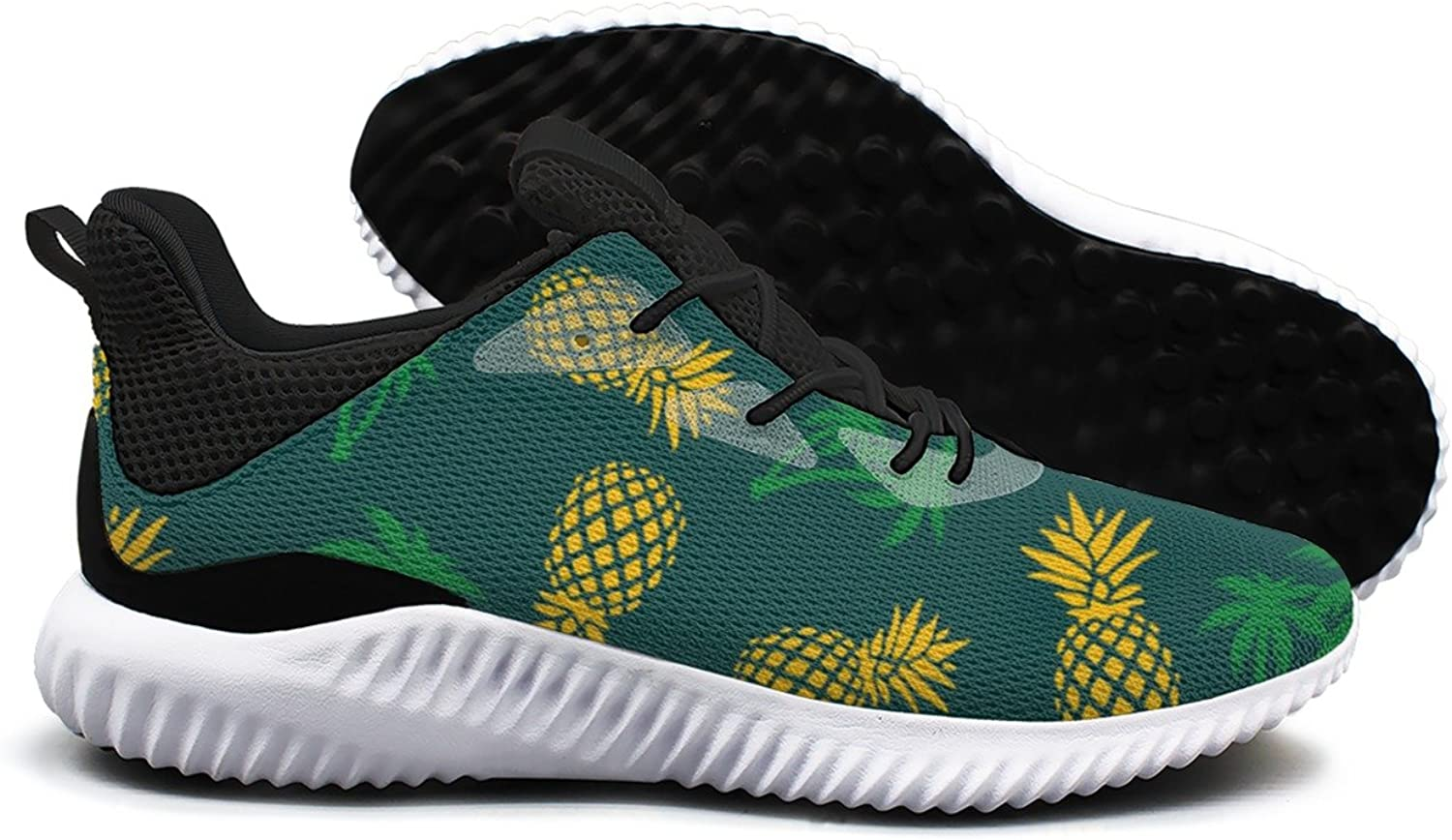 Pineapple and Palm Tree Leisure Sports Running shoes Woman Net Funny Gift
