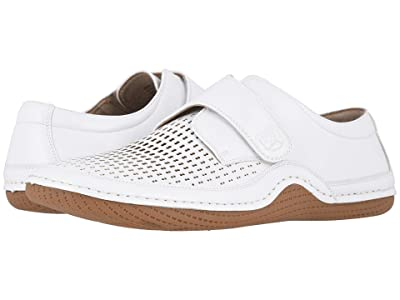 Stacy Adams Omega Casual Monk Strap (White) Men