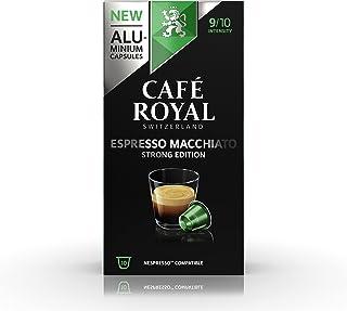Café Royal Dolce Espresso 50 Capsules Compatibles avec le Système Nespresso* (Lot de 5X10); Intensité: 9/10