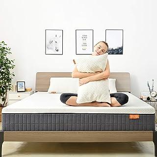Queen Mattress,Sweetnight 12 Inch Queen Size Mattress in Box,Pillow Top Gel Memory Foam Mattress for Motion Isolation & Co...