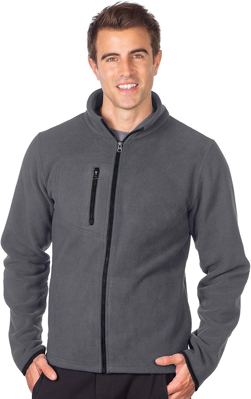 Tri-Mountain - Redmond Men's Heavyweight Micro Fleece Jacket (Small-4XL)