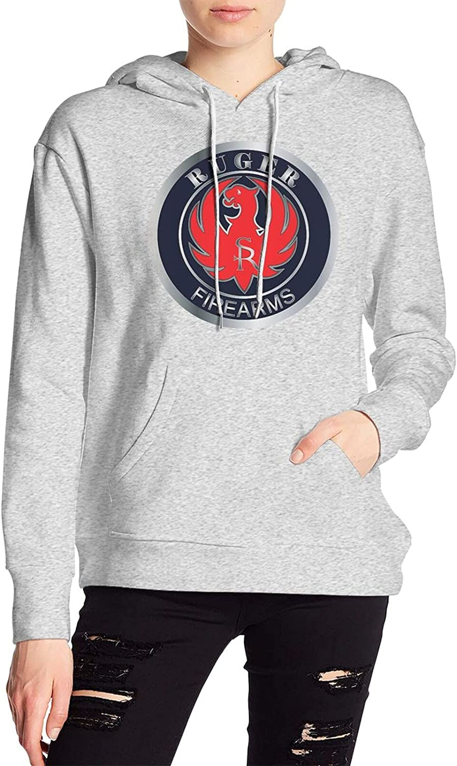 Ruger NEW before selling ☆ Women's Discount is also underway hooded sweatshirt Gray