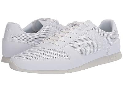 Lacoste Menerva 120 2 (White/White) Men