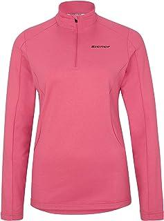 Ziener Palmine Sudadera de esquí, Camiseta Funcional de Manga Larga, Transpirable, Mujer