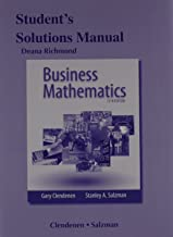 Student's Solutions Manual for Business Mathematics