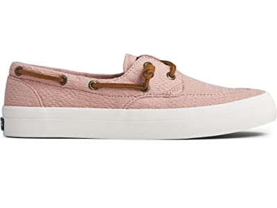 Sperry Crest Boat Smocked Hemp (Rose) Women