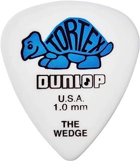 Jim Dunlop 424P1.0 Tortex Wedge Guitar Pick (Pack of 12)