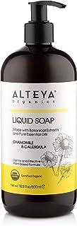 Alteya Bio Flüssigseife Kamille & Ringelblume 500ml - USDA Organic-zertifizierte Reine Natürliche Seife und Waschlotion