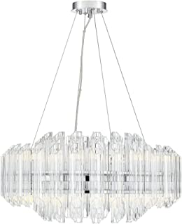 Savoy House 1-0401-16-11 Marquette Chandelier, 16-Light Total LED 1920 Watts, Chrome