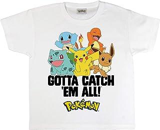 Pokemon Neon Mewtwo Garçons T-Shirt, Merchandise Officiel | Gamer, Vêtement de Jeu, Idée Cadeau pour Les garçons