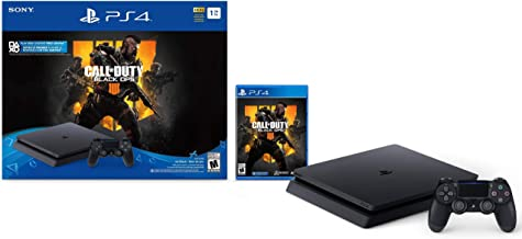 Playstation 4 Slim 2TB SSHD Console with Call of Duty Black Ops 4 Bundle Enhanced with Fast Solid State Hybrid Drive