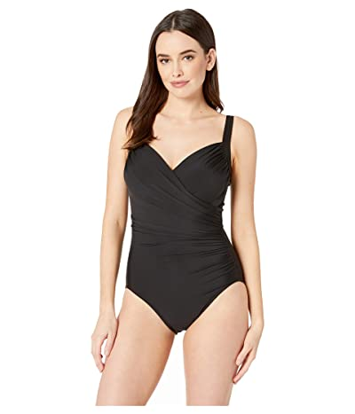 Miraclesuit Solid DD-Cup Sanibel One-Piece (Black) Women