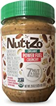 Nuttzo Organic Power Fuel Seven Nut and Seed Butter, Crunchy 1 Pack- 26 Oz