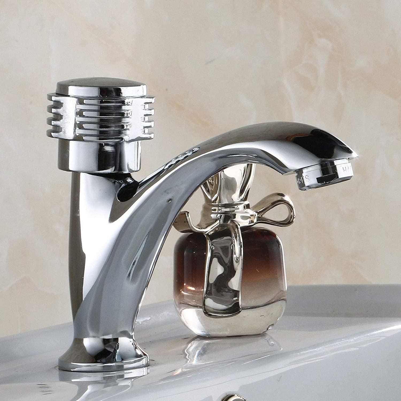 Oudan Basin Mixer Tap Bathroom Sink Faucet Copper single cold basin faucet ceramic basin sink bathroom cabinet faucet water faucet