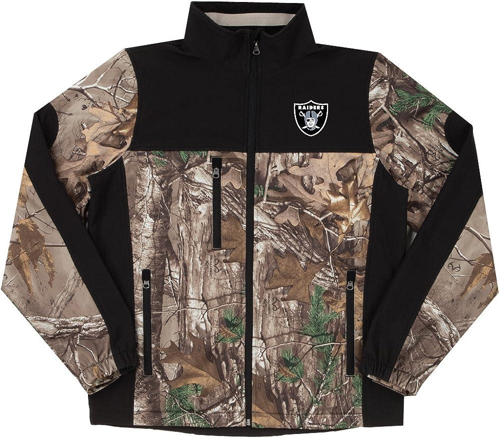 Dunbrooke Men's Real Tree Camo Colorblocked Softshell Jacket