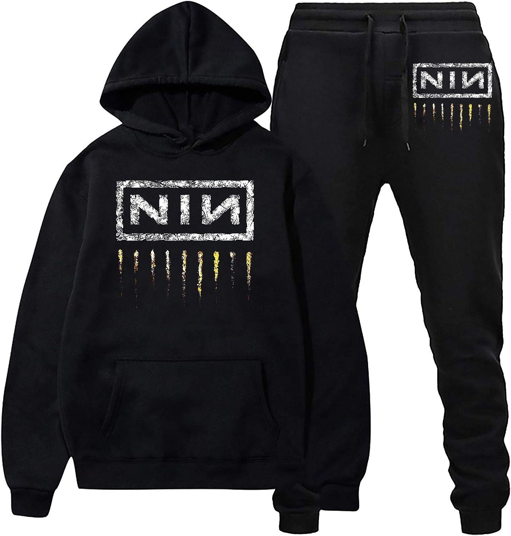 Nine Inch N-ails Hoodie and Fashion Suit 日本メーカー新品 Sweat 高額売筋 Sweatpants Casual