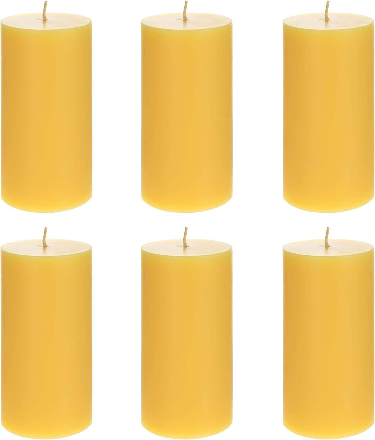 Mega Candles 6 pcs Citronella Round P Max 69% OFF Hand Candle Poured Pillar Ranking TOP20